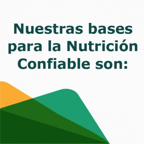 1. Bases Previtep para la Nutrición Confiable